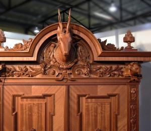 A cabinet for a hunter